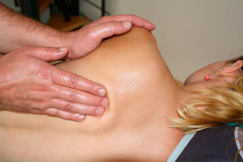 Fisioterapia masaje