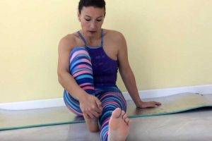 Flexor común dedos pie